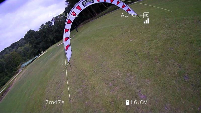 Image du retour vidéo d'un Amimon Connex ProSight