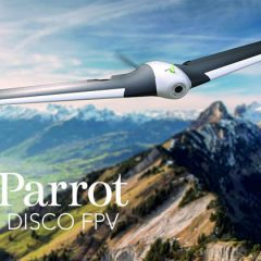 Parrot DISCO FPV et Parrot Bebop 2 FPV