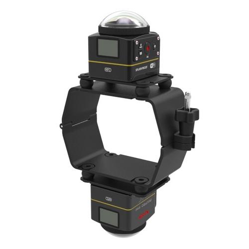 Fixation 2 caméras Kodak SP3604K pour 3DR Solo