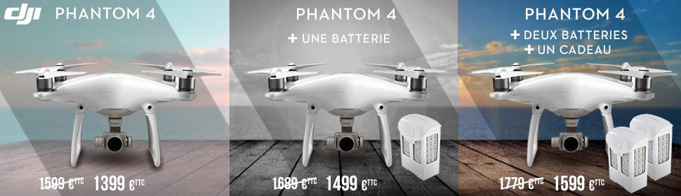 Baisse des prix DJI Phantom 4