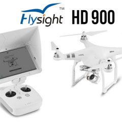 Tablette tactile et écran FlySight HD900