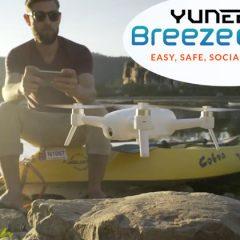 Yuneec Breeze, un nouveau drone compact dédié aux prises de vues