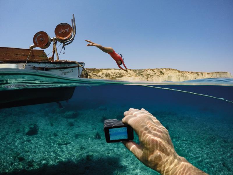 GoPro Hero5 étanche 10 mètres