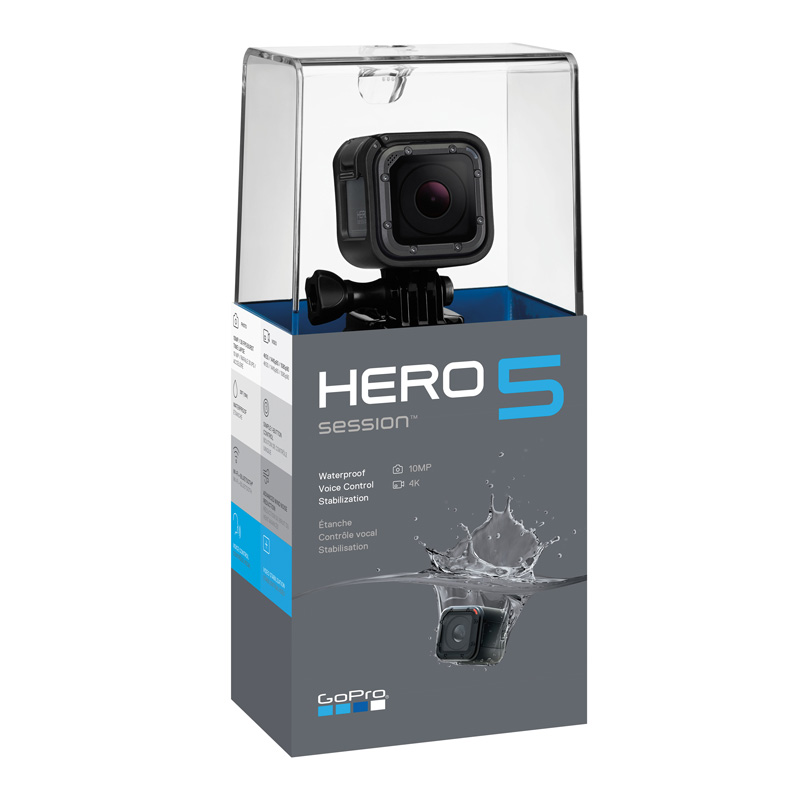 GoPro Hero5 Session packaging