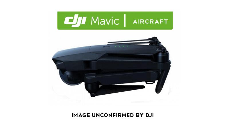 DJI Mavic, rumeurs sur le drone compact de DJI