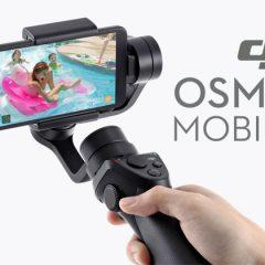 DJI OSMO Mobile : un stabilisateur pour smartphone