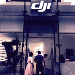 Magasin DJI Hong Kong, le style des plus grands