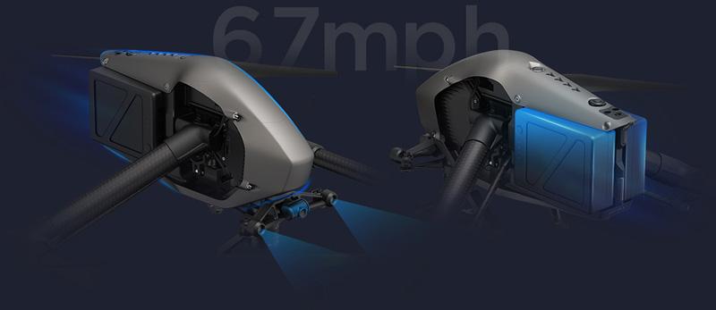 DJI Inspire 2 détecteur d'obstacles