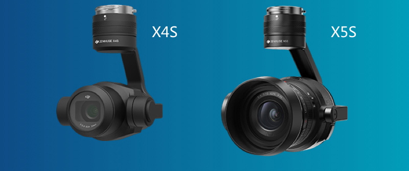 DJI Zenmuse X4S et X5S