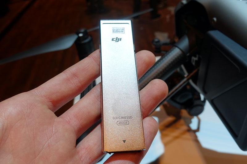 Disque SSD 480Go pour DJI Inspire 2