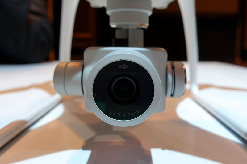 Caméra du DJI Phantom 4 Pro