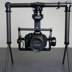 Gremsy H3, la nacelle pour appareil photo reflex compatible DJI