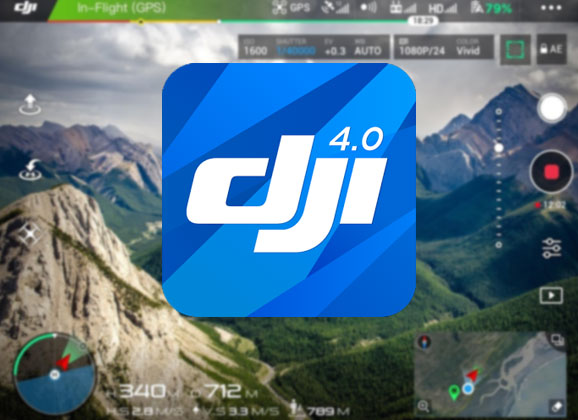 Phantom 4 Pro Drone >> DJI GO 4, la nouvelle application ! - studioSPORT