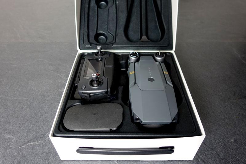 Packaging DJI Mavic Pro