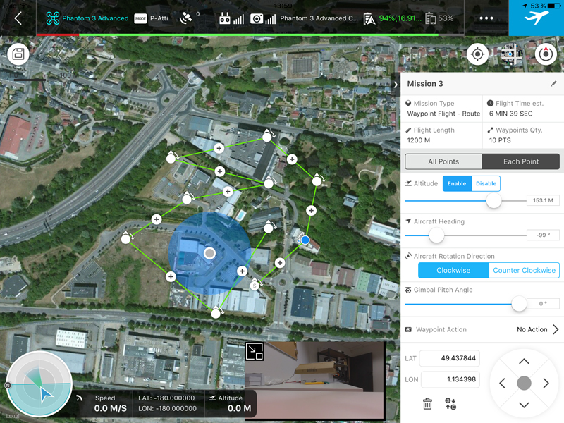 DJI Ground Station Pro, l'application de vols autonomes ! - studioSPORT