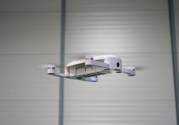 Drone Dobby en vol