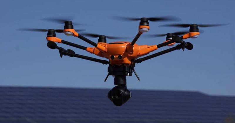 Nouveau Yuneec H520 en vol !