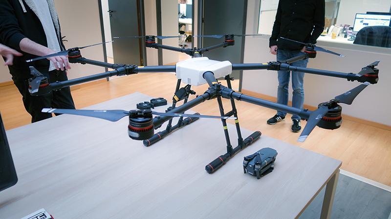 d couvrez en avant premi re le dji agras mg 1s drone d 39 pandage studiosport. Black Bedroom Furniture Sets. Home Design Ideas