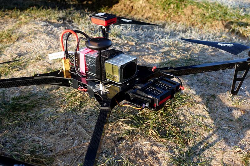 Drone de cartographie studioSPORT FX1 avec Parrot Sequoia