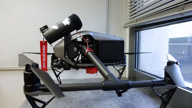 Drone DJI Inspire 2 Homologué S1, S2 et S3 par studioSPORT
