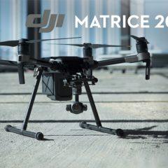 DJI Matrice 200 series, les nouveaux drones pour les professionnels