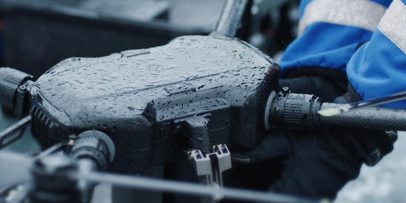 DJI Matrice 200 résistant à l'eau