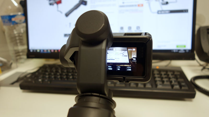 GoPro Hero5 Black sur Karma Grip