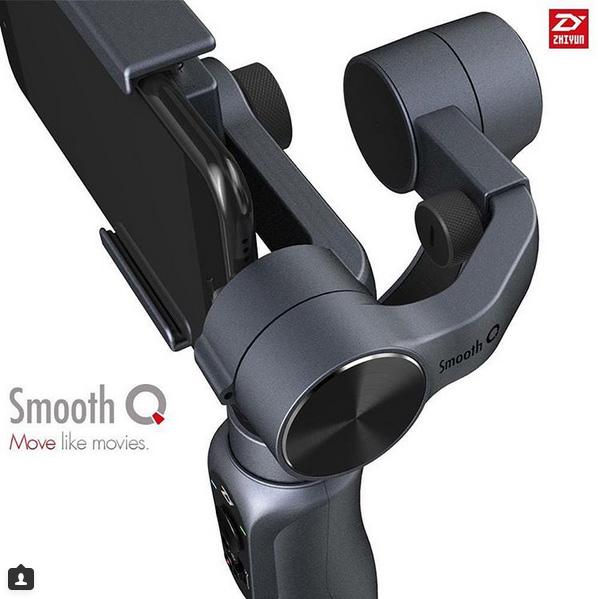 Zhiyun Smooth Q moteurs puissants