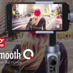 Zhiyun Smooth Q le stabilisateur pour smartphone à moins de 150€