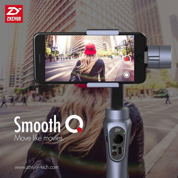 Zhiyun Smooth Q le stabilisateur pour smartphone