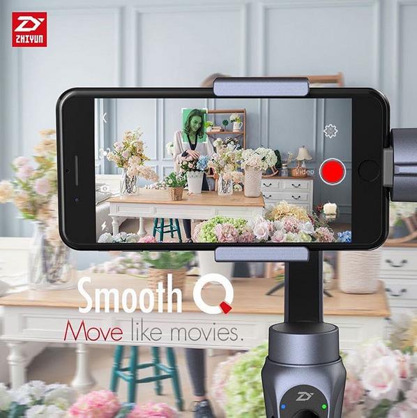 Zhiyun Smooth Q suivi automatique de personne