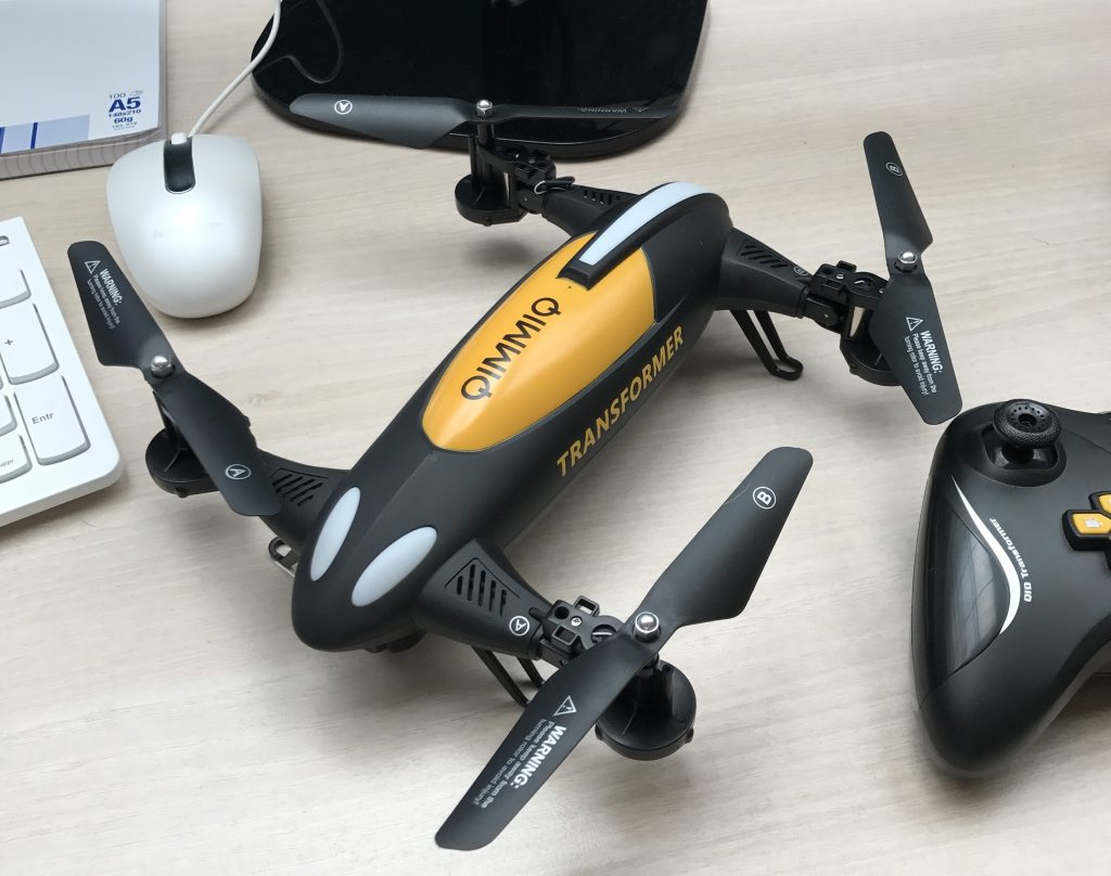 Le drone Qimmiq Transformer
