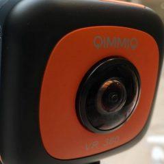 Présentation de la Qimmiq VR360: Caméra 360°