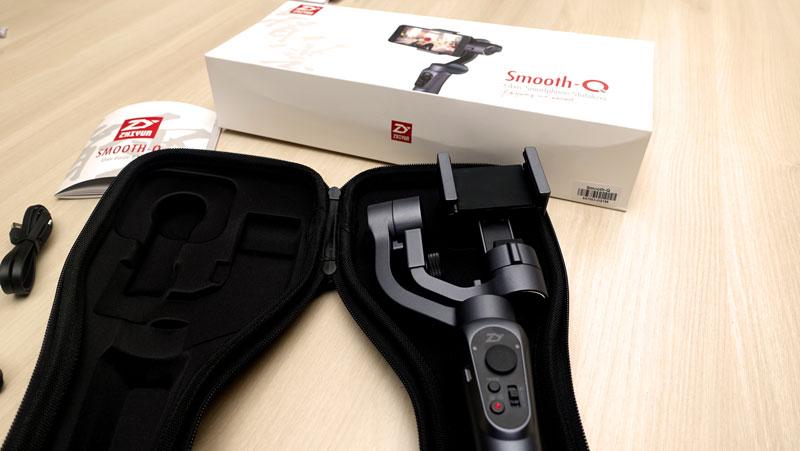 Stabilisateur pour smartphone Zhiyun Smooth Q