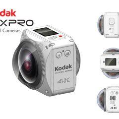 Nouvelle caméra Kodak ORBIT360 VR 4K