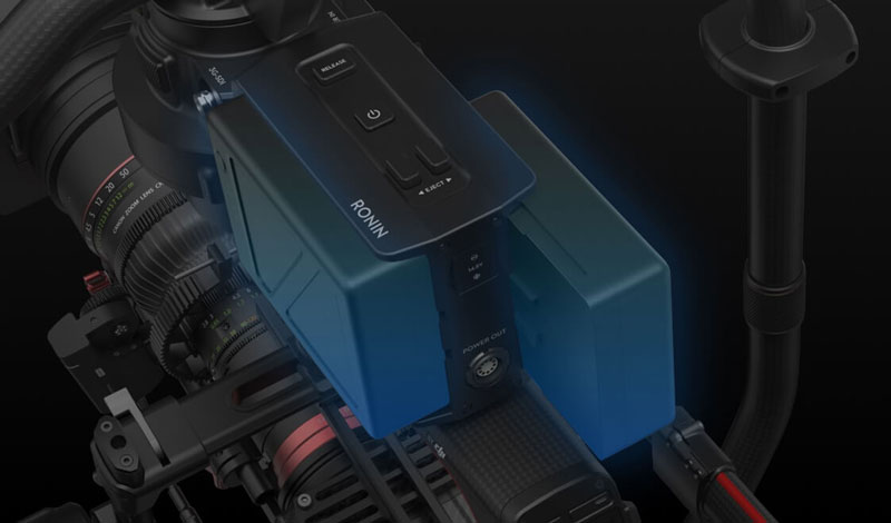 Batteries intelligentes pour DJI Ronin 2