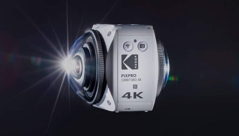 Caméra Kodak ORBIT360 4K