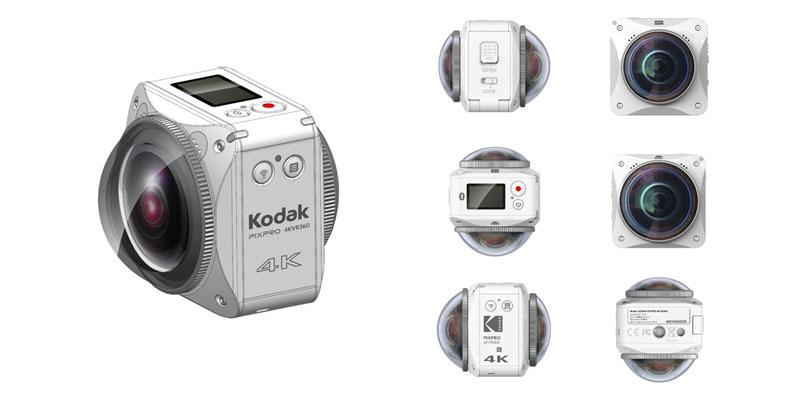 Kodak SP360 VR 4K