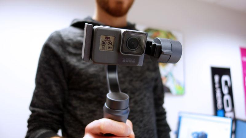 Zhiyun Smooth Q avec GoPro Hero5 Black