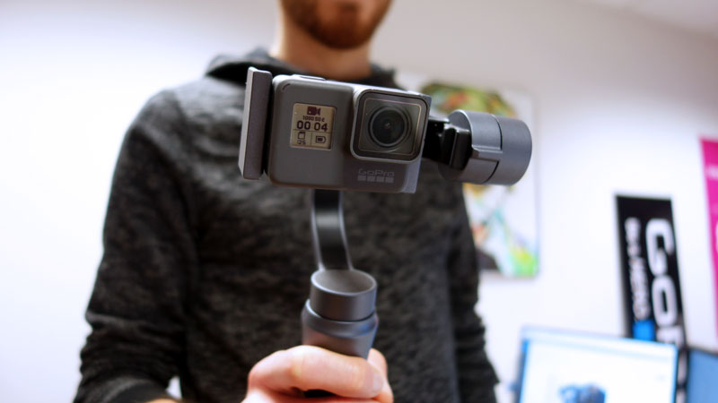 Zhiyun Smooth Q avec GoPro Hero5 Black