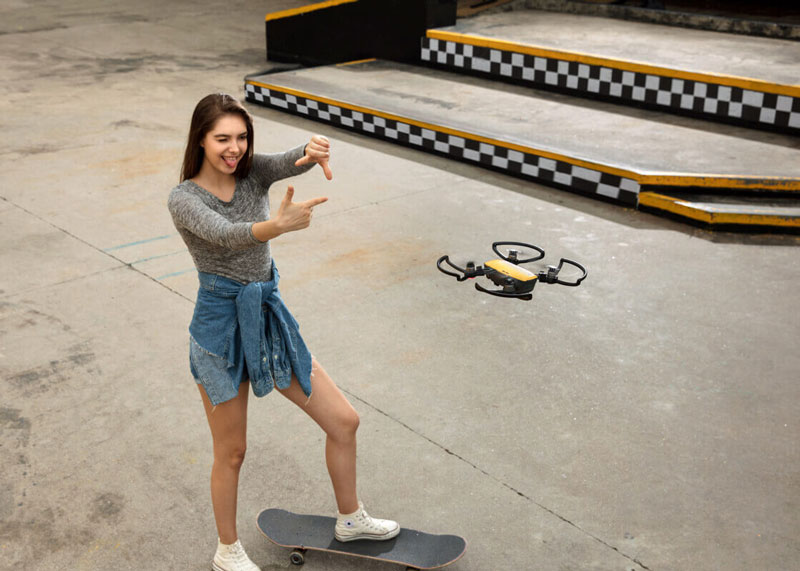 DJI Spark prendre une photo