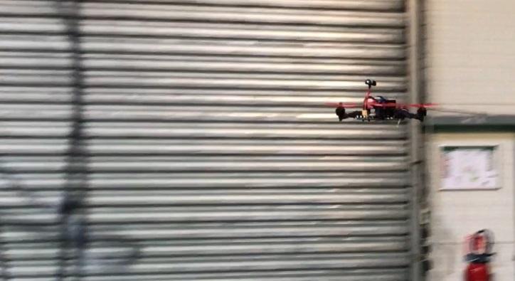 Racer 250 pro en vol