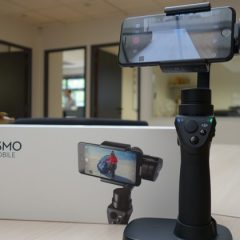Test du stabilisateur Osmo mobile de DJI