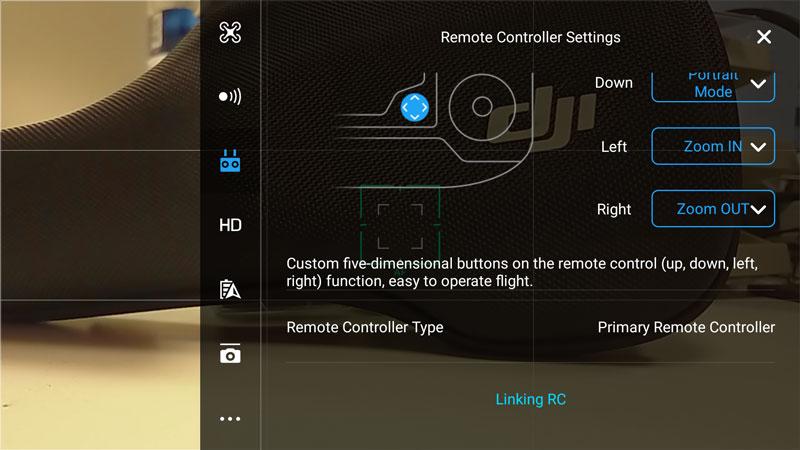 Linking RC radiocommande DJI Mavic Pro