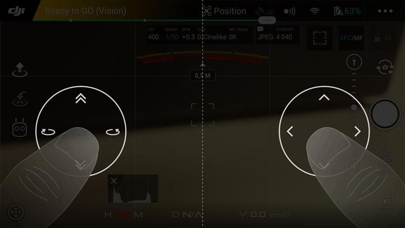 Piloter depuis son smartphone un DJI Mavic Pro