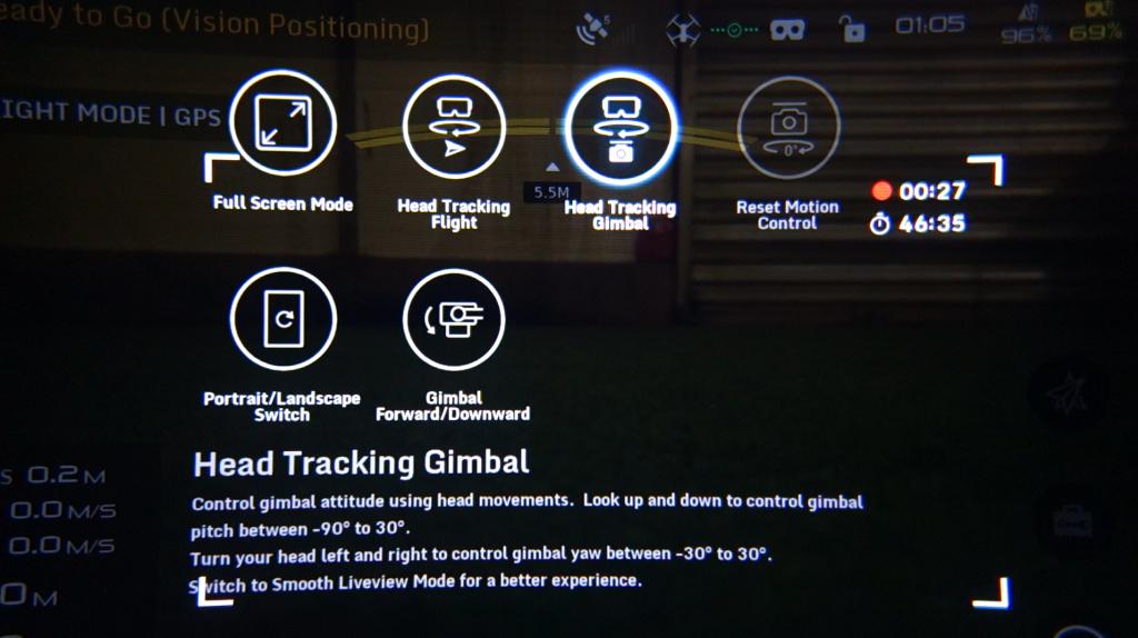 Mode Head Tracking Gimbal