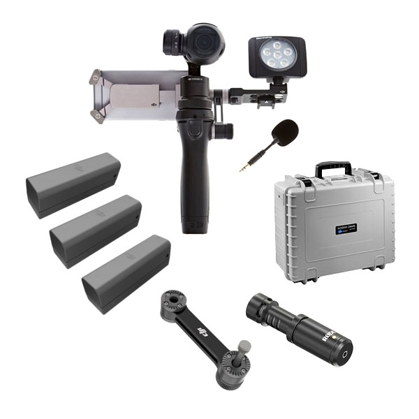 Pack vlogueur DJI Osmo