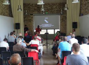DJI Aerial Workshop, intervention sur l'inspire 2