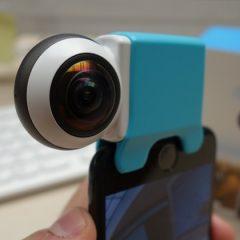 La Giroptic IO, caméra 360 pour smartphone et tablettes