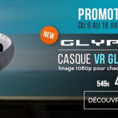 Promotion sur le casque Glyph du 9 au 18 Juin !